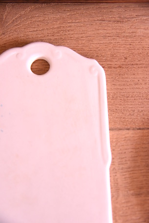 まな板 磁器 白磁 フランス アンティーク