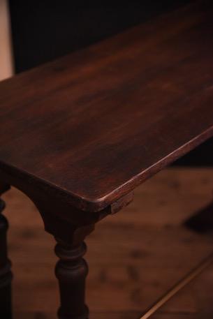 アンティーク 木製 ビストロテーブル サイドテーブル