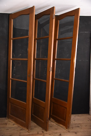 アンティーク ガラスドア 玄関ドア フレンチ 木製 パーテーション