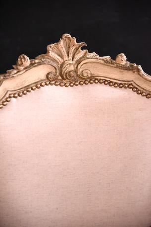 アンティーク フレンチ ペイント アームチェア ルイ15世