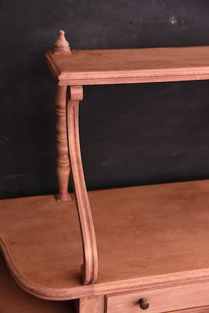アンティーク 剥離 ディスプレイ シェルフ ラック 飾り棚 フレンチ