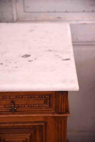 アンティーク 大理石 サイドテーブル ベッドサイド フレンチ