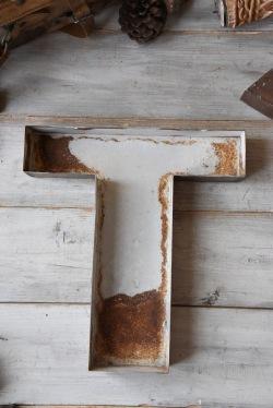 アンティーク 鉄 アルファベット