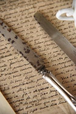アンティーク カトラリー シルバー ナイフ フランス